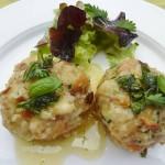 Köstliches vom Allgäuer Bergkäse: Käseknödel mit Frühlingskräuterbutter