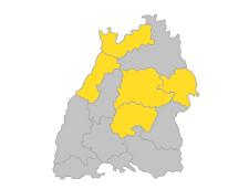 Mittlerer Oberrhein, Neckar-Alb, Ostwürttemberg, Stuttgart, Unterer Neckar