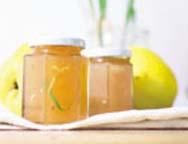 Apfel-Quitten-Konfitüre mit Zitronengras