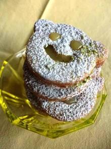 Vanille-Spitzbuben mit fruchtiger Zitronencreme