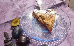 Zwetschgenkuchen mit Tonkabohne