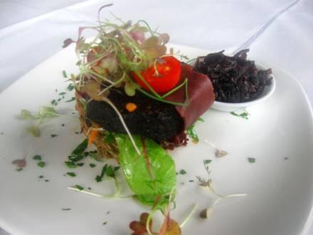 Kulinarisches Halloween in schwarz…
