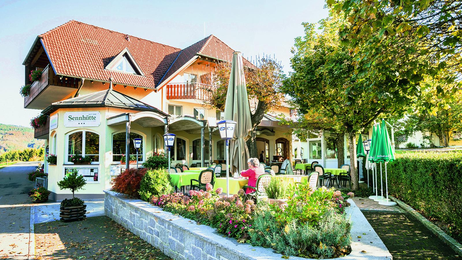 Bild 1 Gasthof Hotel Sennhütte