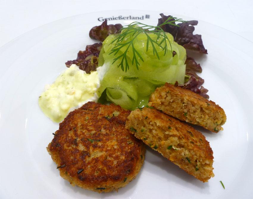 Vegetarische Leckerbissen: Badische Grünkernküchle