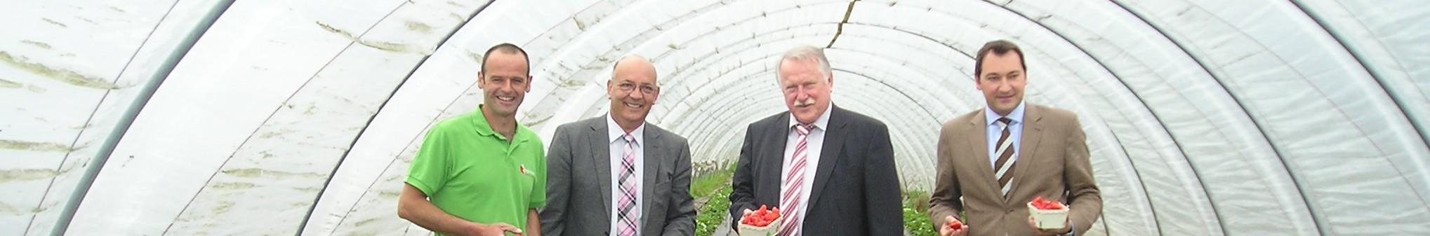 Bild Eröffnung der Erdbeersaison in Baden-Württemberg