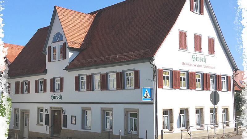 Bild 1 Gaststätte Hirsch