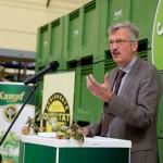 Pressekonferenz zur Eröffnung der Apfelsaft-Saison