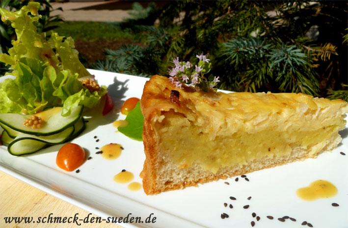 Spezialitäten aus dem Ländle: Schwäbischer Kartoffelkuchen