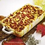 Herbstlicher Schmaus mit kräftigen Kartoffeln, dampfendes Kraut & deftigen Speck