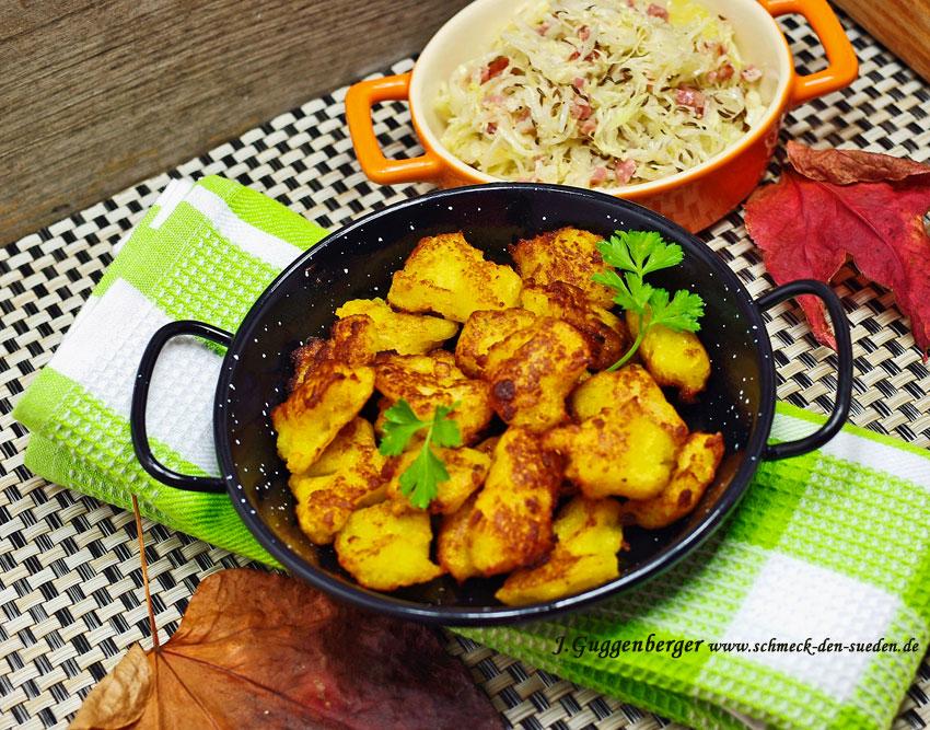 Johannes Guggenberger empfiehlt heute: Kartoffel-Stierum und warmer Krautsalat mit Speck