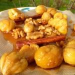 Köstliche Kastanien mit Karamell - ein Traum