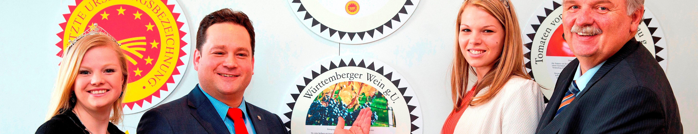 Bild Badischer Wein g.U. und Württemberger Wein g.U. in die Genießergalerie aufgenommen
