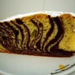 Unser speziell marmorierter Zebrakuchen mit Rapsöl...