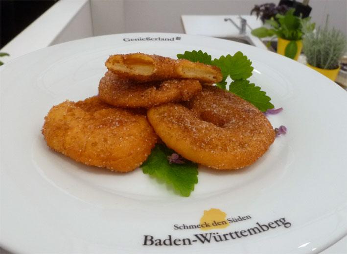 Apfelküchle (Rezept von der Kochwerkstatt Mannheimer Maimarkt 2014)