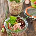 Ideals für ein sPicknick: der Wurstsalat