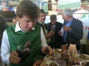 Spezialitäten aus dem Genießerland auf Slow Food Messe in Turin
