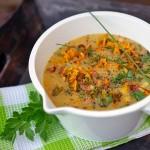 Kräftige Suppe mit viel Aromen...