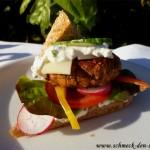 Ein richtig saftiger, vollmundiger Burger. Made in Baden-Würrttemberg