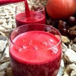 Smoothie Herbst Apfel Karotte Kürbis rote Beete