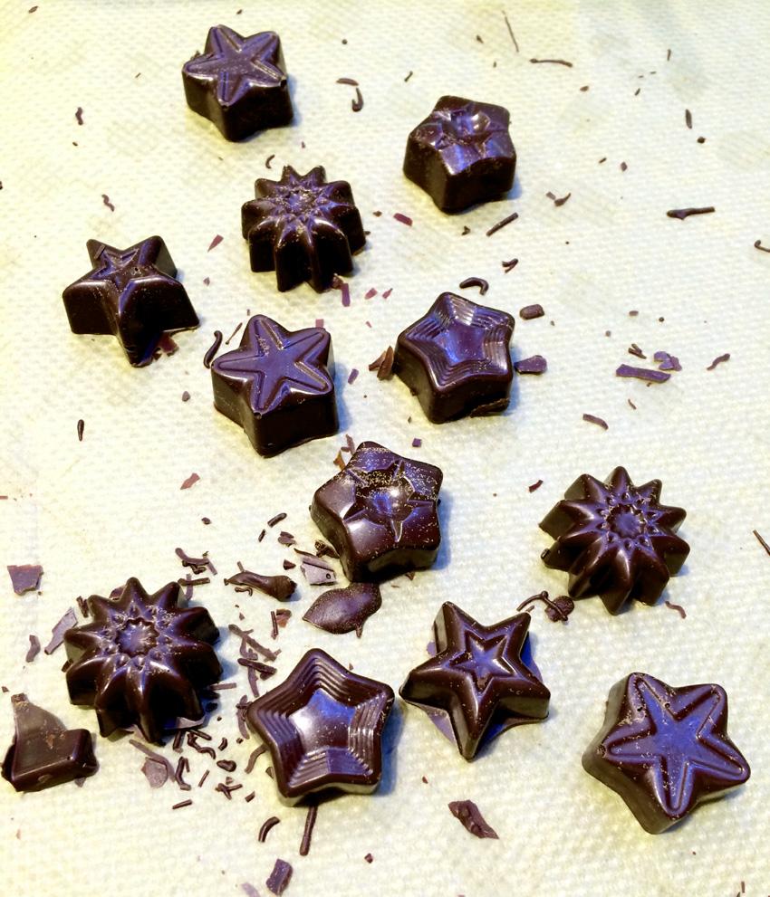 Süßes zum Advent – Teil 2: Adventsschokolade, Eiskonfekt & Gummibärchengesichter