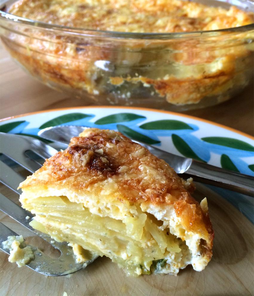 Rezept zur internationalen grünen Woche in Berlin: Kartoffelgratin mit heimischen Käse