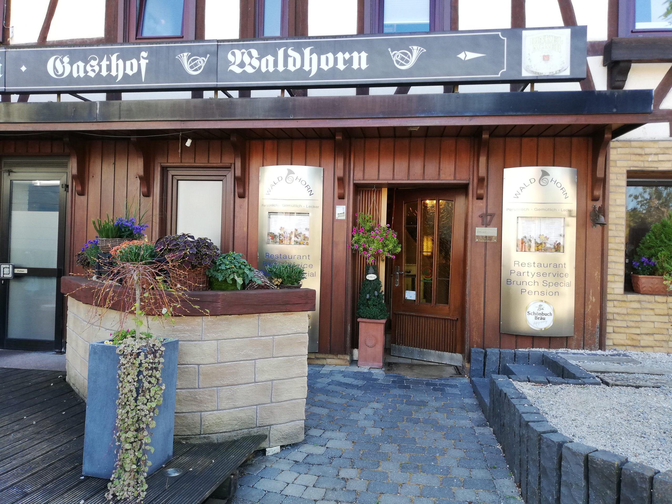 Bild 1 Gasthaus Partyservice Pension Waldhorn