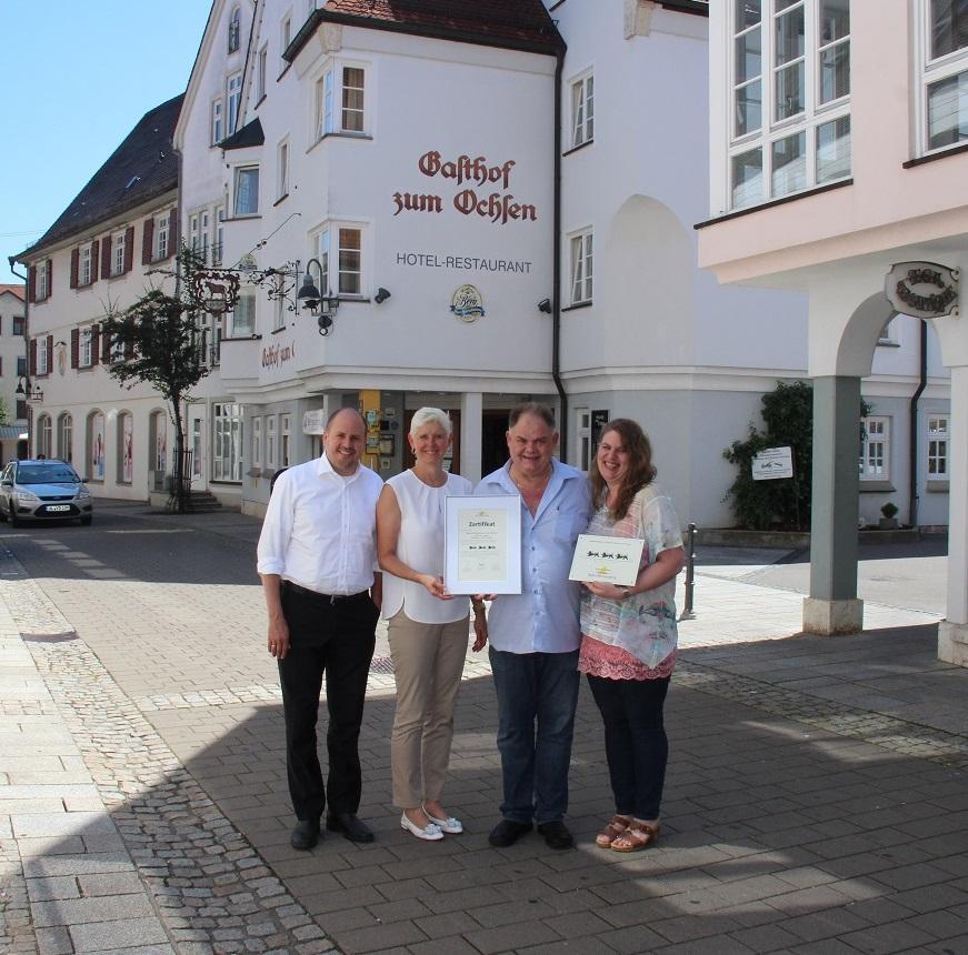 Bild Drei Löwen für Hotel Gasthof zum Ochsen in Ehingen