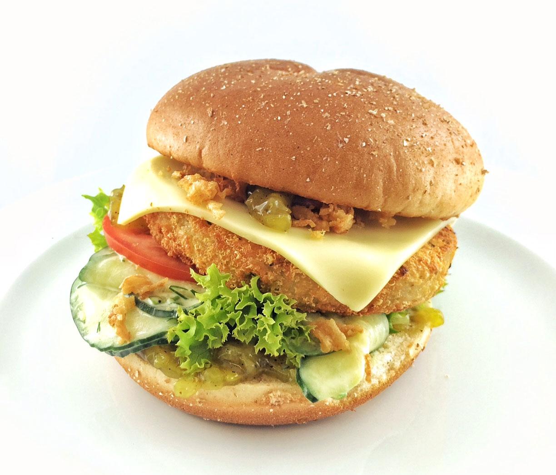 Bergkäs-Burger (vegetarisch)