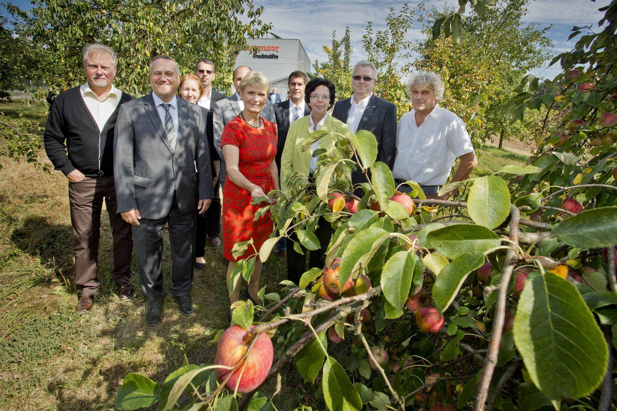 Bild Eröffnung der Apfelsaftsaison 2016