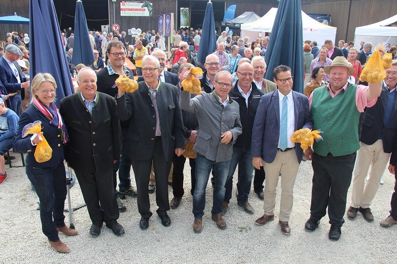 Bild Biosphärengastgeber verwöhnen Besucher auf dem Kartoffelfest in St. Johann