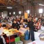 Biosphärengastgeber verwöhnen Besucher auf dem Kartoffelfest in St. Johann