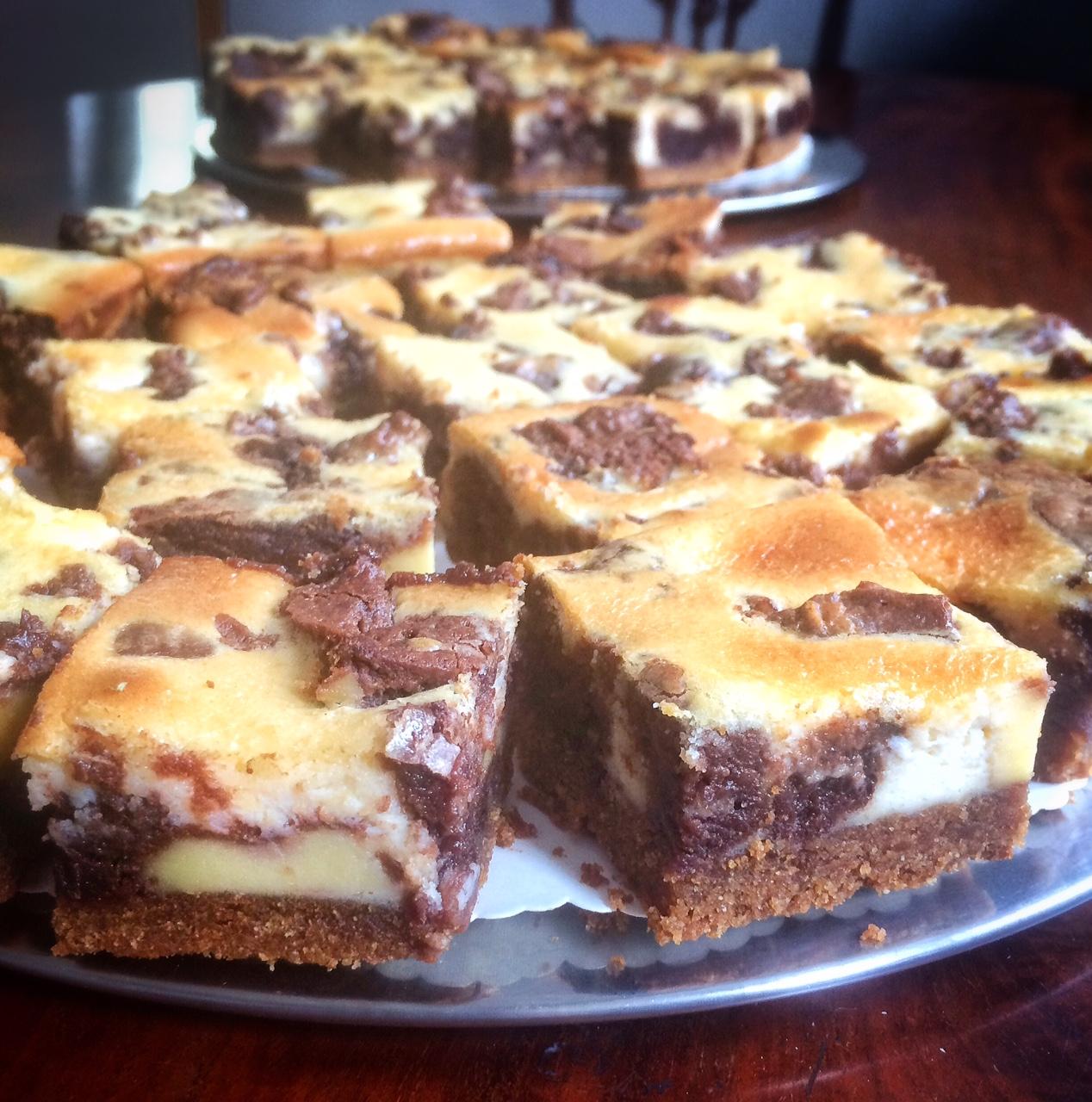 Marmorierte Schokoladen-Brownies