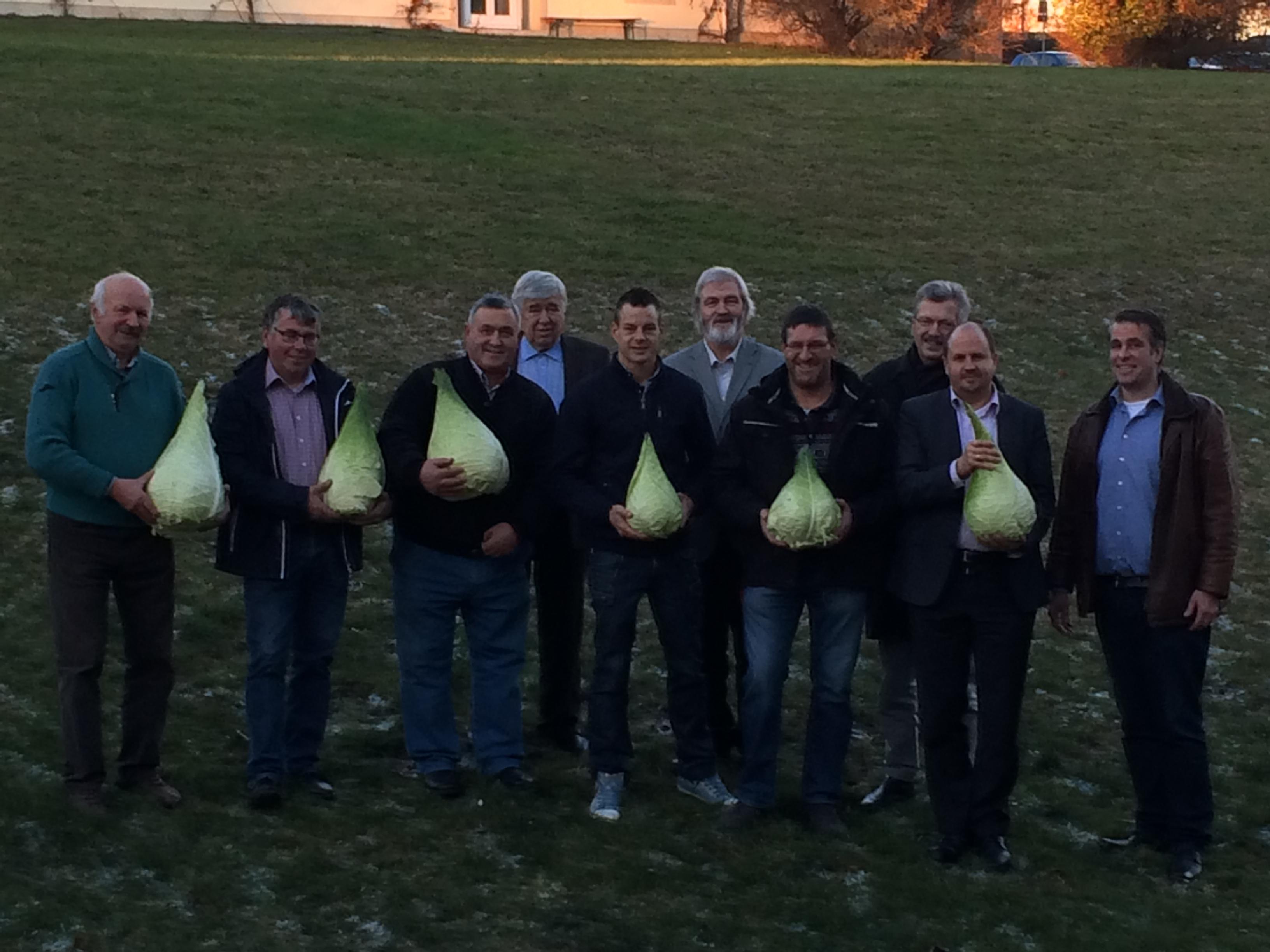 Bild Filderkraut nachhaltig bewahren – Bäuerliche Erzeugergemeinschaft Filder gegründet