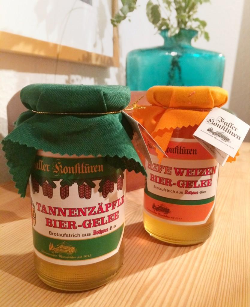 Fundstück der Woche: Tannenzäpfle Biergelee-Brotaufstrich