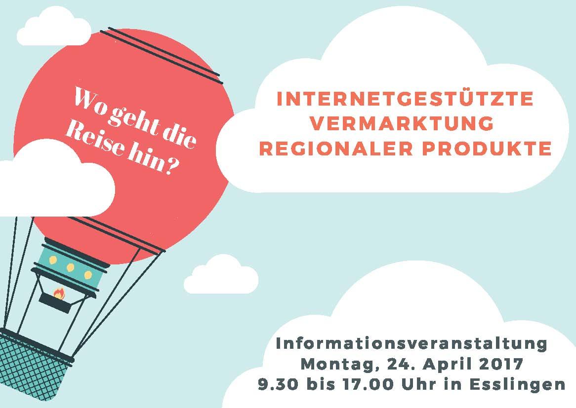 Bild Veranstaltungstipp: Internetgestützte Vermarktung regionaler Produkte