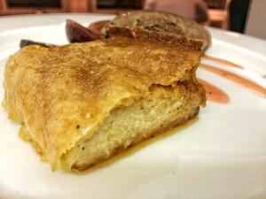 Aus dem Ofen: Karamellisierter Grießkuchen
