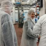 Hier ging es um die Wurst – Staatssekretärin Gurr-Hirsch zu Gast im EDEKA Südwest Fleischwerk