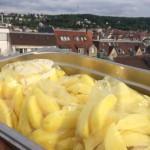 Ofen-Pommes mit würzigem Knuspercrunch