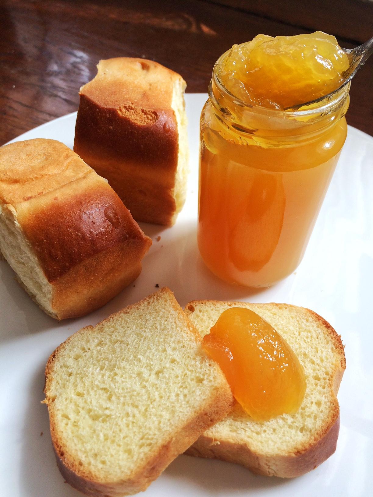 Aprikosengsälz (Konfitüre)