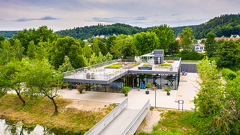 Bild 1 Bootshaus Sigmaringen