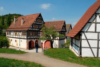 Bild 1 Landhaus Engelberg im Freilichtmuseum Beuren