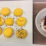 Ungewöhnliche Rezepte zu Halloween: Süße Kürbis-Pfannenküchlein mit Zwetschgenmusfüllung