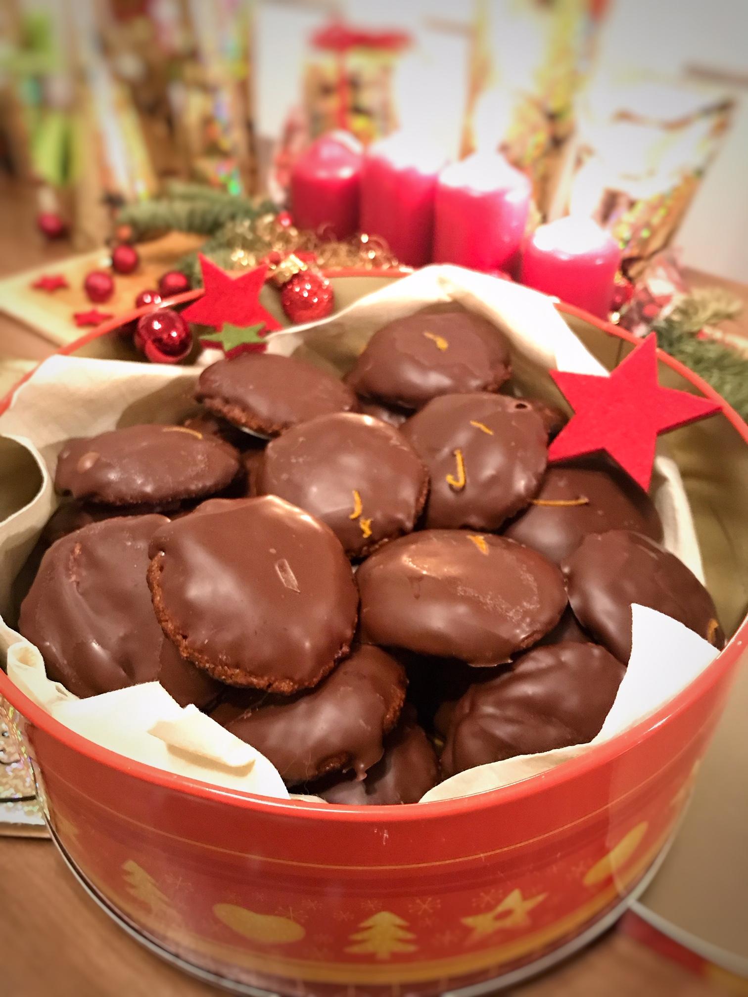 Weihnachtliche Lebkuchen