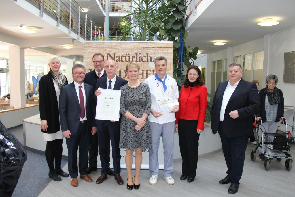 Auszeichnung der Reha-Klinik Bad Sebastiansweiler