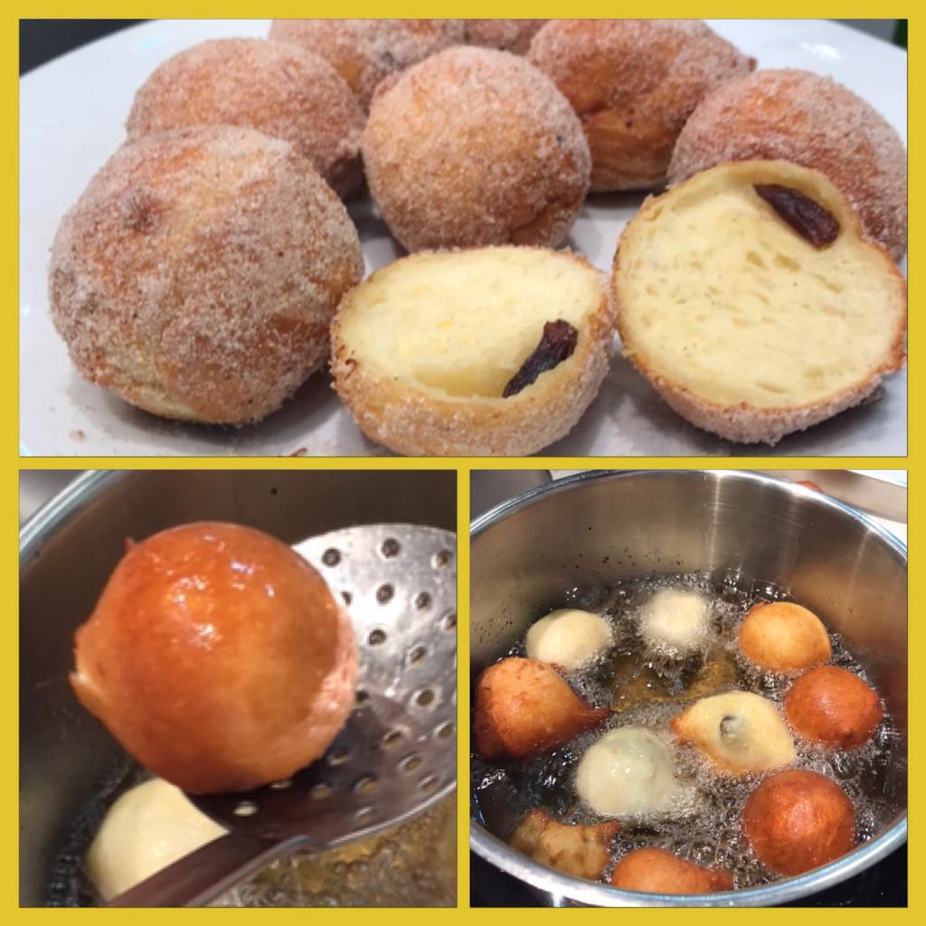 Kulinarische Traditionen zur Faschingszeit: Nonnenfürzle (mit Hefeteig)
