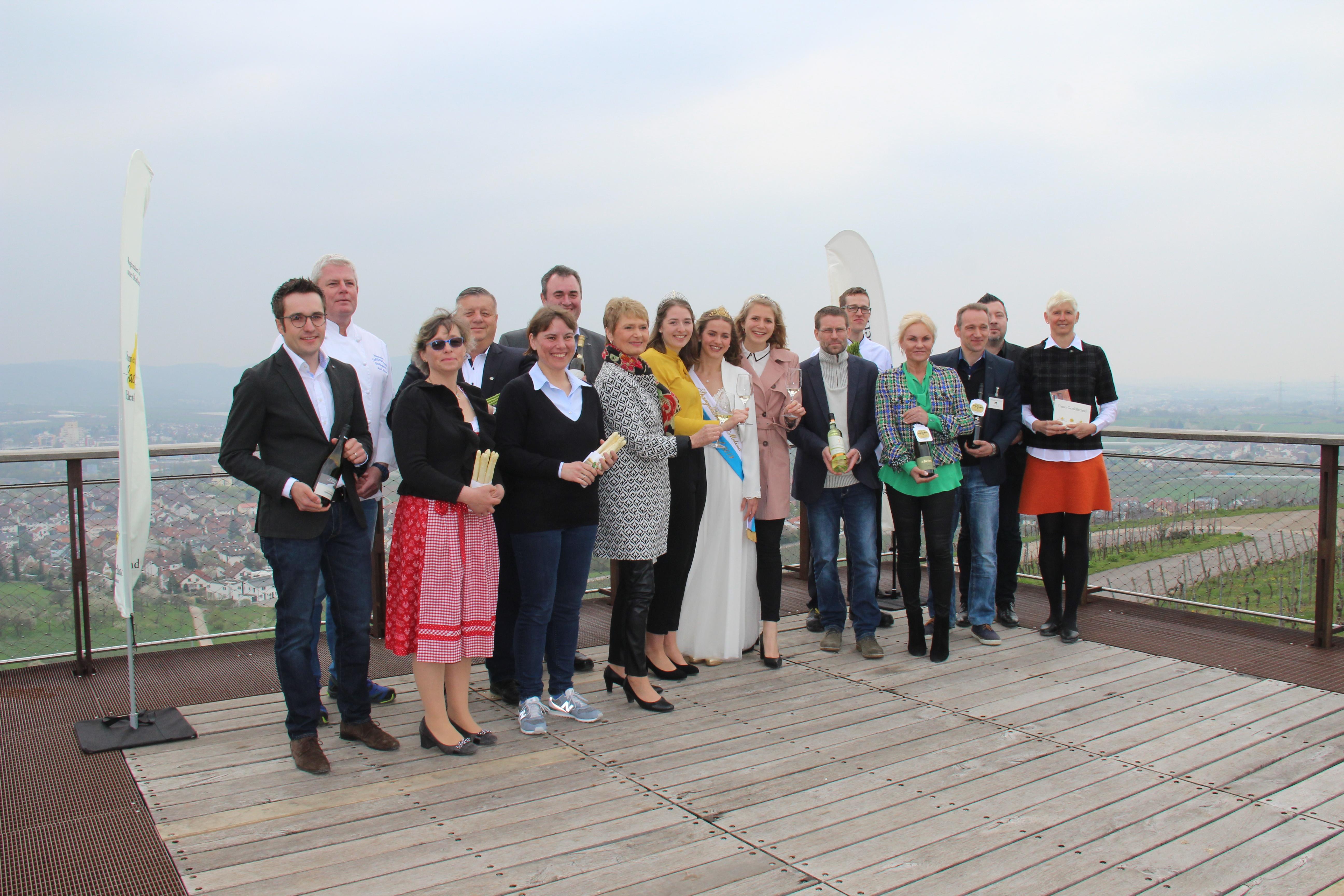 Bild Eröffnung der Spargelwochen und Auszeichnung der Sommerweine