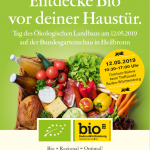 Entdecke Bio vor deiner Haustür – Tag des Ökologischen Landbaus am 12.05.2019