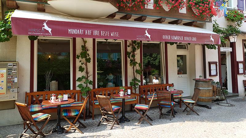 Bild 1 Restaurant Café Hirsch
