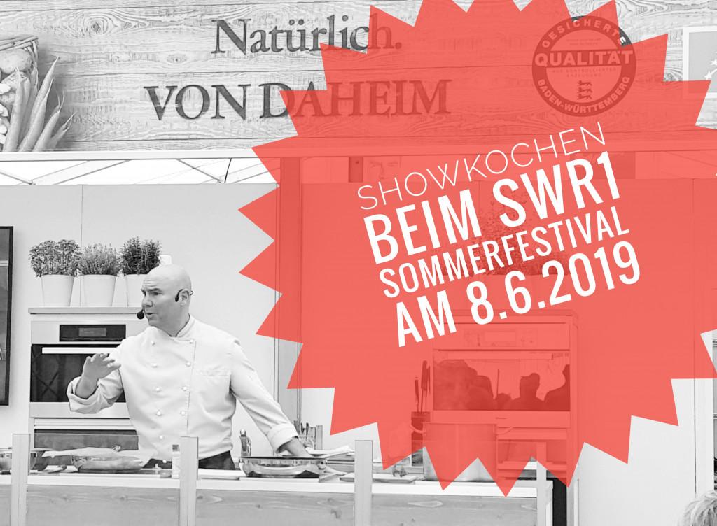 Livekochen beim SWR1 Sommerfestival