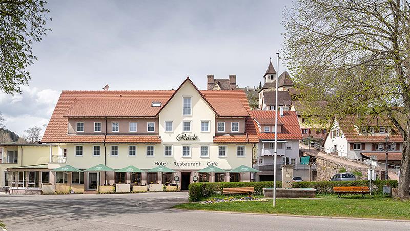 Bild 1 Hotel Restaurant Café Rössle-Berneck